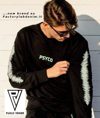 Paolo Venier nuovo brand streetwear disponibile su Factorylabdenim.it